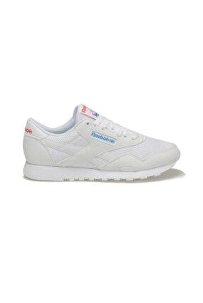 CL NYLON TXT Beyaz Kadın Koşu Ayakkabısı 100413236