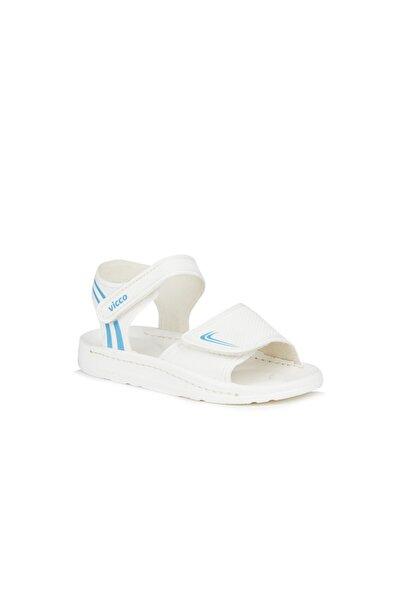 Vicco Dory Unisex Bebe Beyaz Sandalet