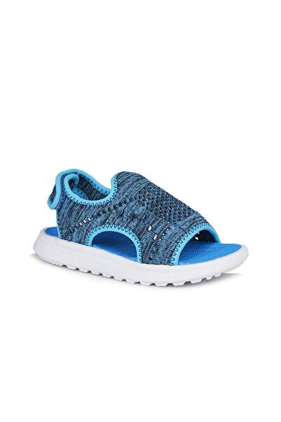 Vicco Macaron Erkek Genç Mavi Sandalet