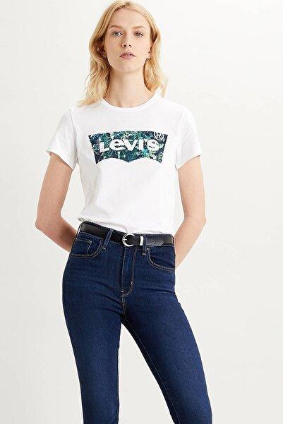 Levi's Kadın Beyaz Baskılı T-shirt 17369-1043