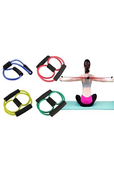 Zeki Karga Pilates Egzersiz Bandı Aerobik Yoga Ayak Kol Direnç Lastiği
