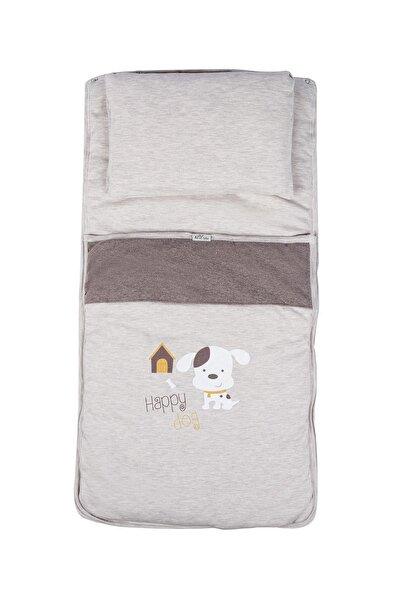 Aziz Bebe Köpek Baskılı Çıt Çıtlı Yastıklı Alt Açma Azz025145