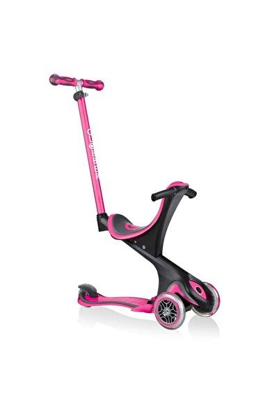 Globber Evo Go Up Comfort Pembe Kız Çocuk Scooter