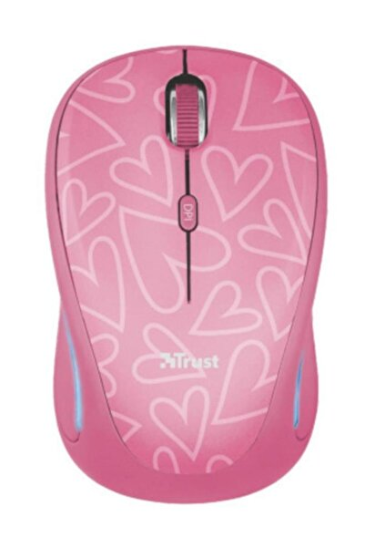 Trust Yvı-fx Işıklı Kablosuz Mouse (22336) Pembe