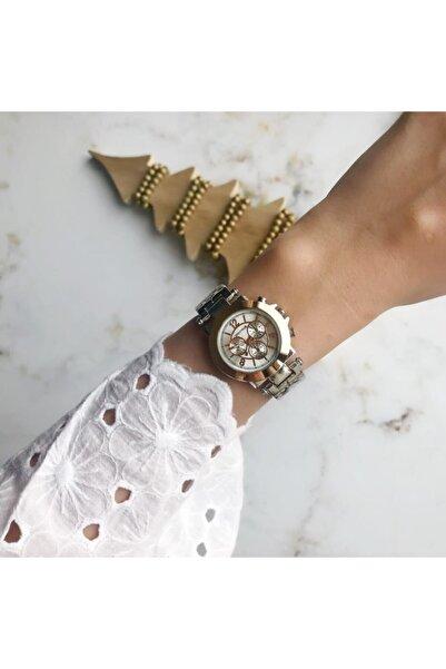 OQQO Retro Rose&silver Kadın Saat