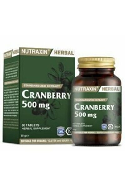 Nutraxin Cranberry 500 mg 60 Softgel