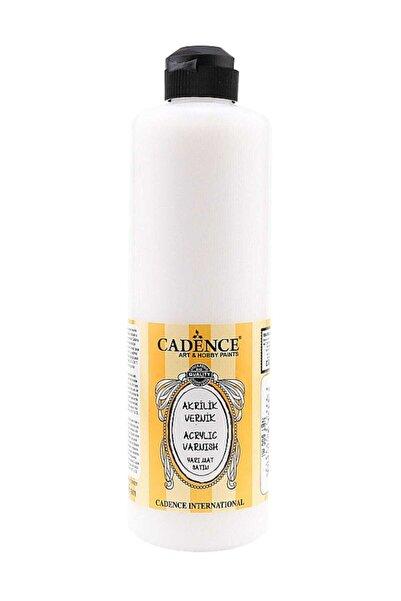 Cadence Su Bazlı Yarı Mat Vernik 500 ml.