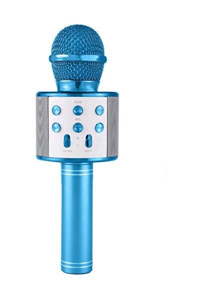 NoTech Karaoke Mikrofon Bluetooth, Usb, Hafıza Kartı Ve Aux Girişli Ws-858