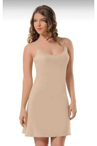 NBB Kadın Ten 3851 Elbise Jipon Astar
