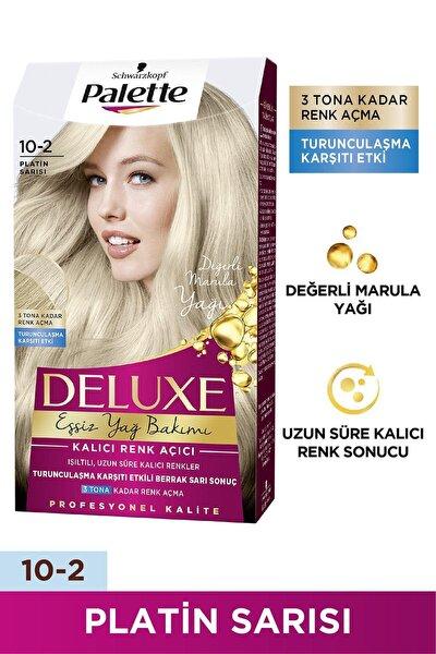 Palette Deluxe 10-2 Platin Sarısı Saç Boyası