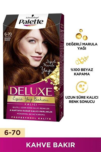 Palette Deluxe Kahve Bakır (6-70) Saç Boyası