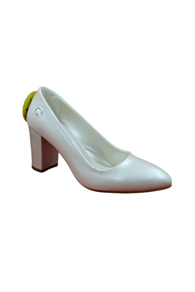 Mammamia D19ka-825-e Bayan Topuklu Ayakkabı - - Sedef - 37