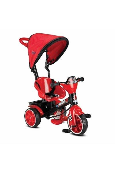 BabyHope 121 Bobo Speed Tenteli Üçtekerli Kontrollü Bisiklet Kırmızı