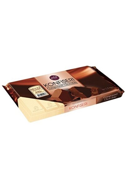 Elit Çikolata Elit Beyaz Konfiseri 2.5 Kg