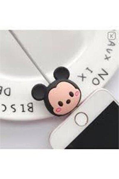 My Mürdüm Sevimli Silikon Kablo Koruyucu Mickey Syamgzskk17