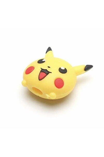 Telehome Kablo Koruyucu Sevimli Pikachu Şarj Kablo Koruyucu