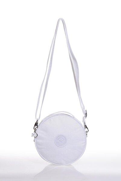 SMART BAGS Beyaz Kadın Postacı Çantası Smb3024