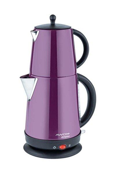 AWOX Demplus Mürdüm Paslanmaz Çay Makinası