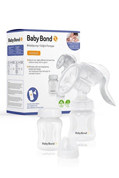 Baby Bond Manuel Göğüs Pompası Seti - Pompa, Biberon, Muhafaza Kabı, Emzik ve Saklama Çantası Hediyel