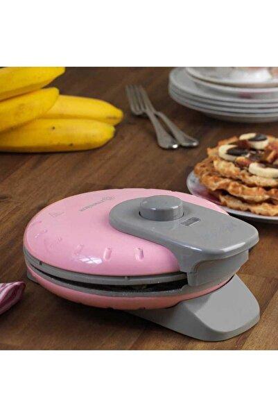 KORKMAZ Mia Waffle Makinası Pembe A319