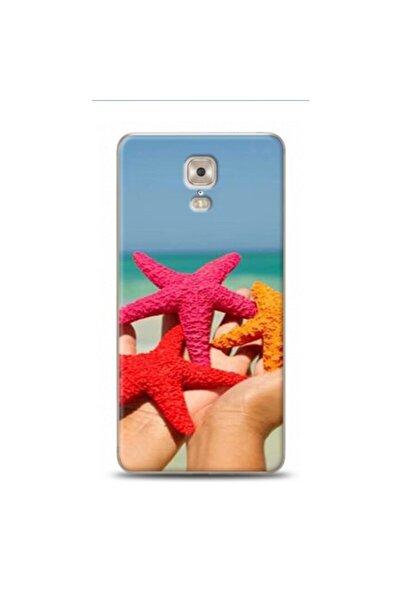 EXCLUSIVE Casper Via A1 Plus Bir Avuc Deniz Yildizi Desenli Telefon Kılıfı
