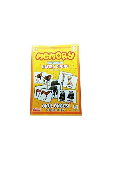 Toystop Memory Hafıza Oyunu Hayvanlar 54 Parça Kzl-141