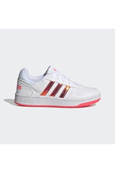 adidas Hoops 2.0 Spor Ayakkabı - Fw7616