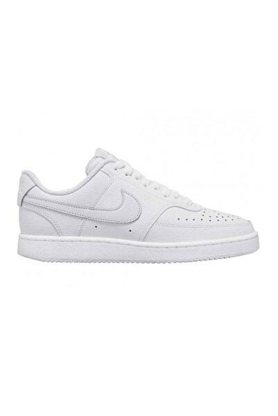 Nike Erkek Beyaz Court Vısıon Lo Spor Ayakkabı Cd5463-100