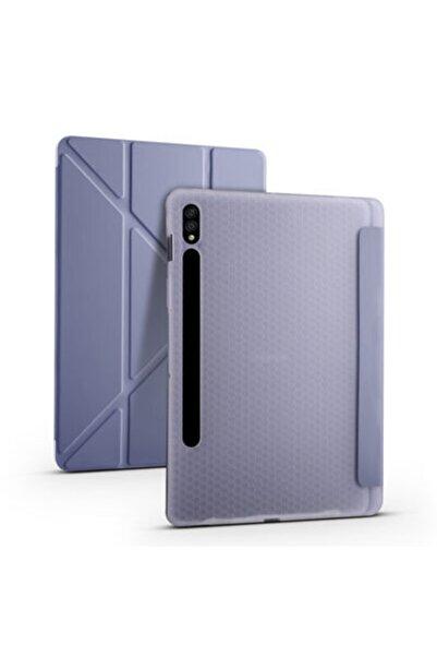 zore Galaxy Tab S7 T870 Kılıf Tri Folding Smart With Pen Standlı Kılıf