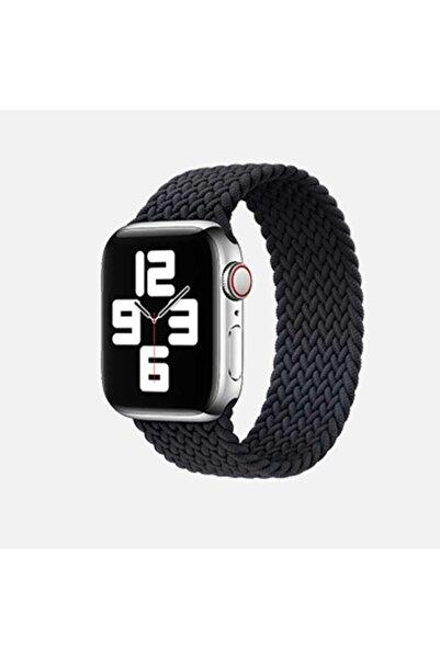 zore Apple Watch Se 44mm Large Hasır Örgü Tek Parça Kordon Krd-32
