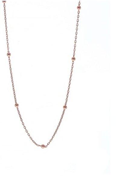 Gümüş 50 Cm Rose Top Top Zincir