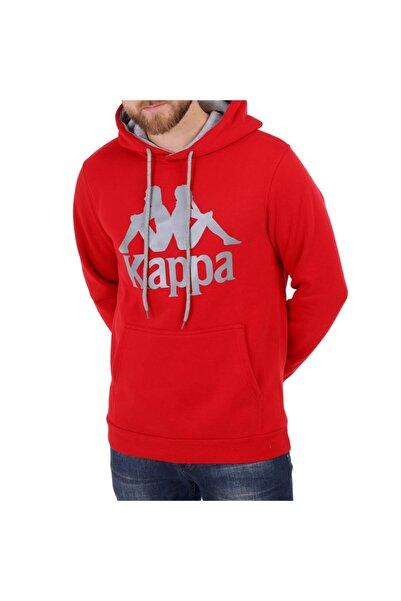 Kappa Erkek Kapüşonlu Sweatshirt Esmıo Kırmızı