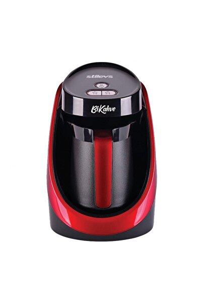 Stilevs Bikahve Kırmızı Kahve Makinesi - Sıh31152