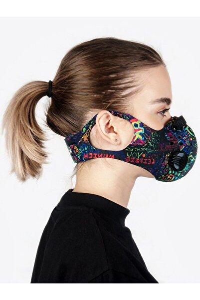 CHUM Spacephobia Aktif Karbon Filtreli Outdoor Maske (Kadın)
