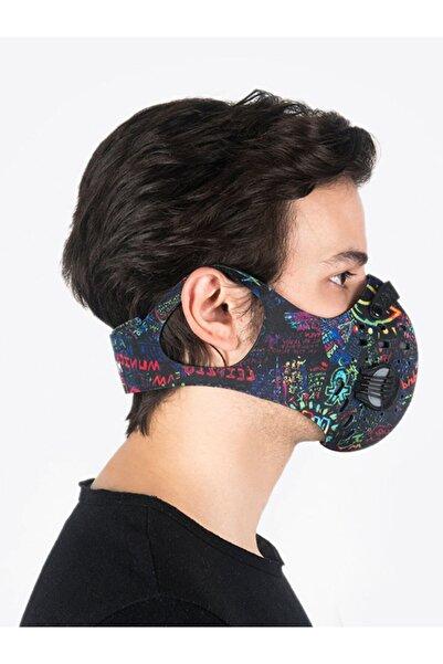 CHUM Spacephobia Aktif Karbon Filtreli Outdoor Maske (Erkek)