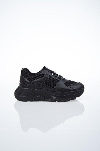 Pierre Cardin PC-30061 Siyah Kadın Spor Ayakkabı