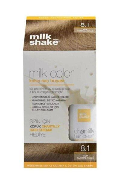 Milkshake Saç Boyası Açık Kumral Küllü 8,1 Ve Saç Köpüğü 8681127022063