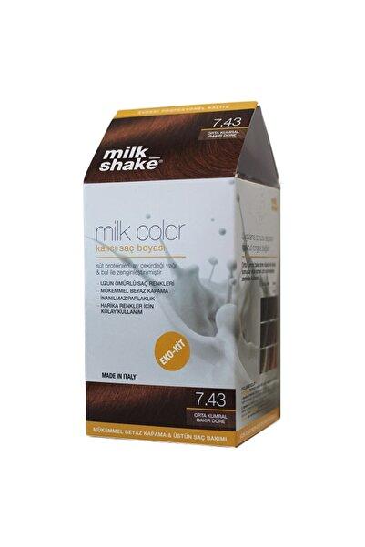 Milkshake Milk Shake 7.43 Orta Kumral Bakır Dore