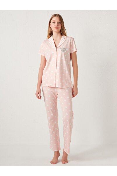 LC Waikiki Kadın Pembe Pijama Takım