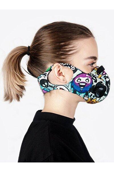 CHUM Darkfun Aktif Karbon Filtreli Outdoor Maske (kadın)