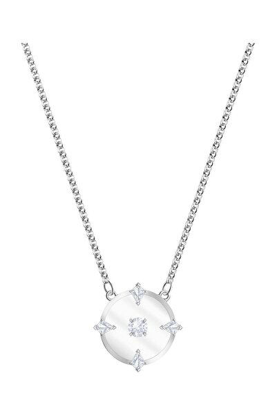 Swarovski Kolye North:Necklace Glass Czwh/Rhs 5497232
