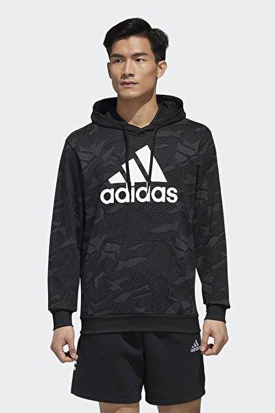 adidas Erkek Günlük Giyim Sweatshirt M E Aop Hdy Gd5489