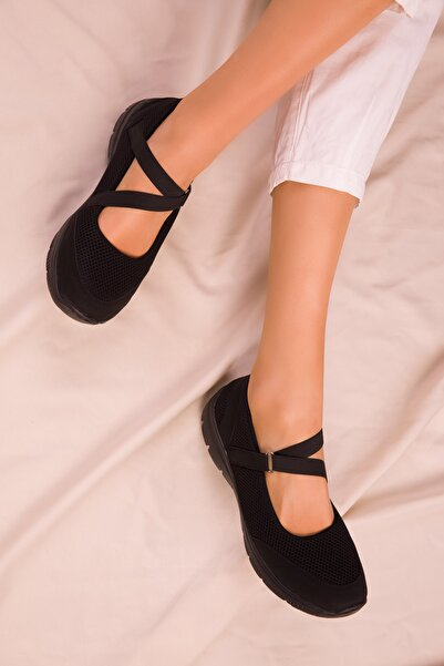 SOHO Siyah-Siyah Kadın Sneaker 14824