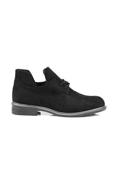 Oblavion Maysa Siyah Süet Ayakkabı