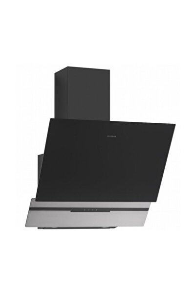 Silverline 3450 Slim-line Basic 60 Cm Siyah Duvar Tipi Davlumbaz