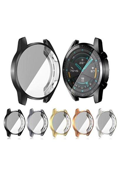 yakuppolt Huawei Watch Gt2 46mm Ekran Koruma Ultra Ince Silikon Kılıf