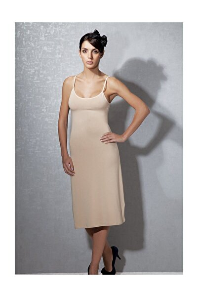 Doreanse Kadın Modal Ten Askılı Jüpon Kombinezon 11129