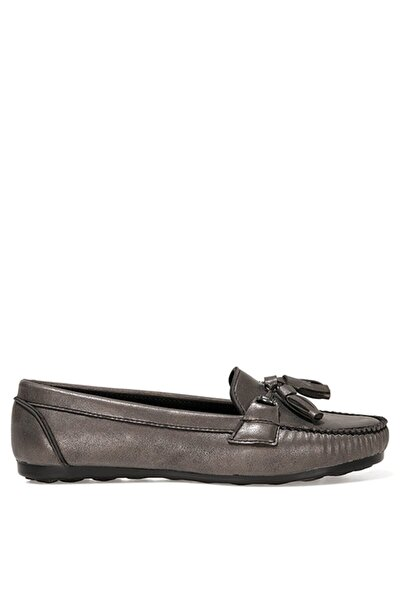 İnci NAV.Z 1FX Gümüş Kadın Loafer Ayakkabı 101038347