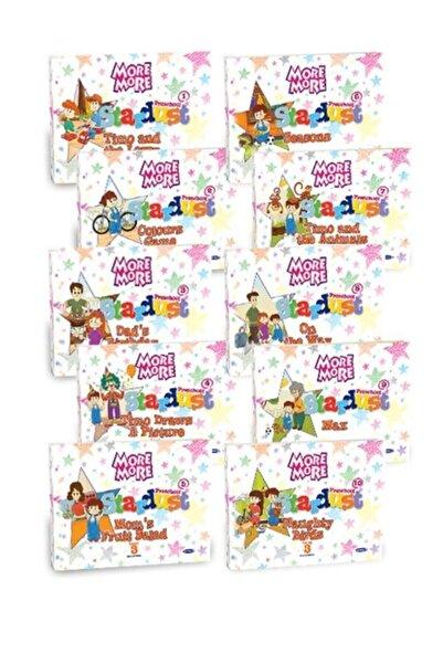 Kurmay Elt Yayınları Kurmay More Stardust 3 Okul Öncesi Hikaye Seti 10 Kitap 5-6 Yaş