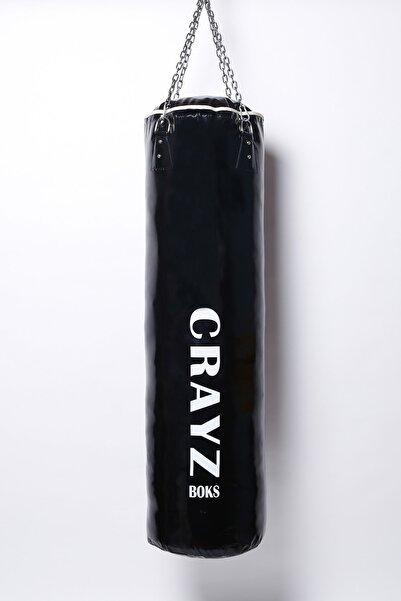 Crazy 120 Cm X 35 Cm Içi Dolu Boks Kum Torbası + Tavan Askı Aparatı
